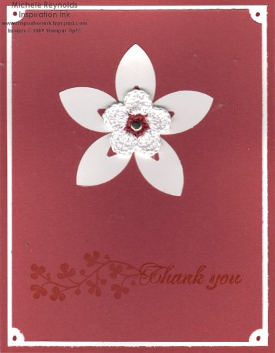 Fleurettes fresh cut notes flower watermark