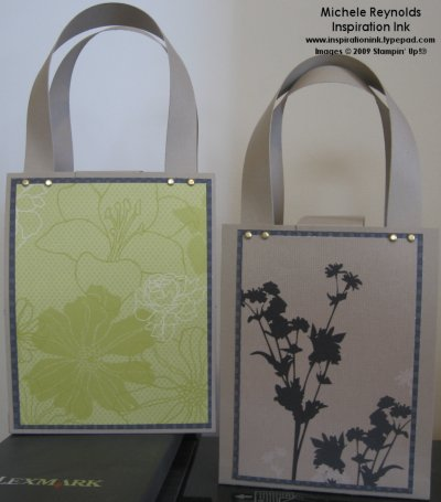 Urban oasis paper card purses watermark