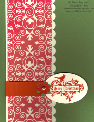 Holiday best elegant cardinal watermark