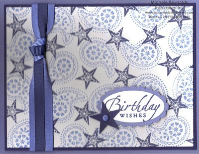 Wanted birthday stars watermark