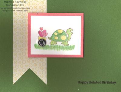 Very thankful belated turtle watermark