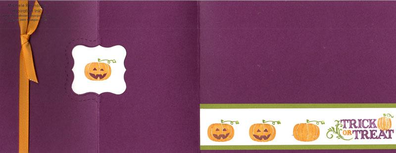 Holiday best fancy fold pumpkins open watermark