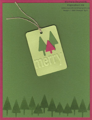 Merry details sizzlits trees tag watermark