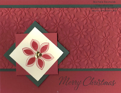Four the holidays poinsettia watermark