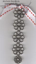 Filigree brads ornament watermark
