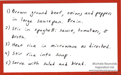 From the kitchen of stuffed pepper soup directions watermark