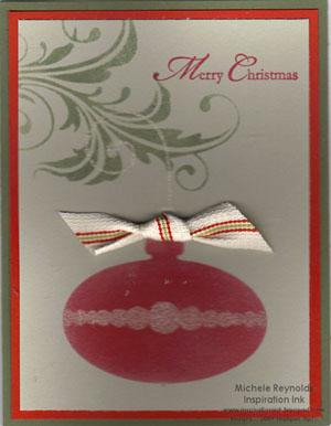 Vintage ornaments 2 stencil card watermark