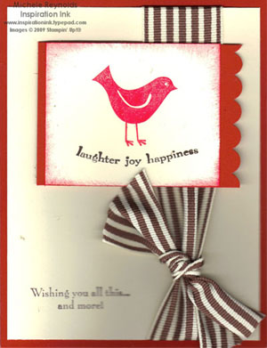 Best wishes & more red bird watermark 2