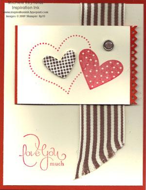 Well scripted valentine watermark