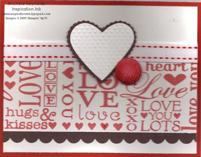 I love love jumbo wheel dotted heart watermark