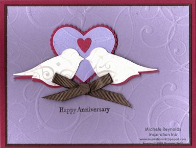 Teeny tiny wishes anniversary birds watermark