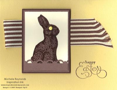 Chocolate bunny brad eye watermark
