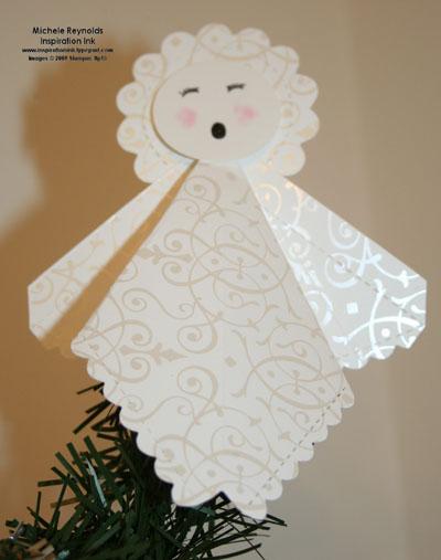 Bride specialty paper angel topper watermark