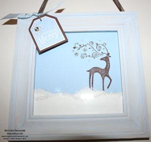 Dasher framed watermark