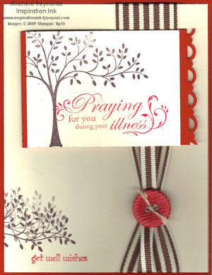 Wellness wishes chocolate tree watermark