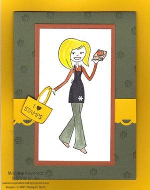 Tote-ally tess easel card closed watermark