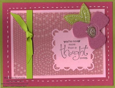 Whimsical words sweet pea watermark