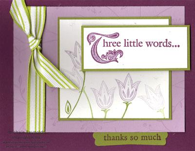 Three little words class kit watermark