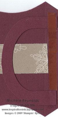 Pillow box handle adherement watermark