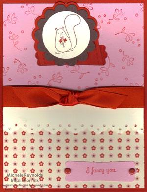 Love bandit bookmark card watermark