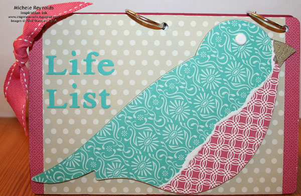 Life list book watermark