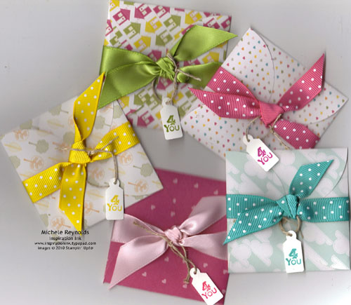Tiny tags petal card gifts watermark