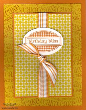 Birthday bliss modern package watermark