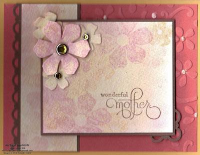 Vintage vogue twinkling h2o flowers watermark