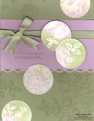 Elements of style moments dots watermark