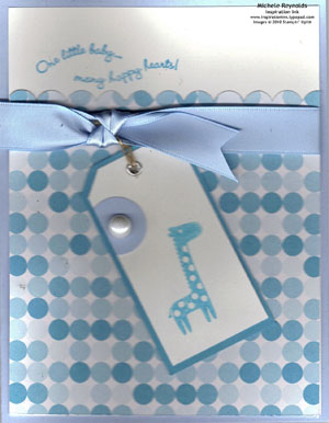 Fox & friends blue baby giraffe watermark