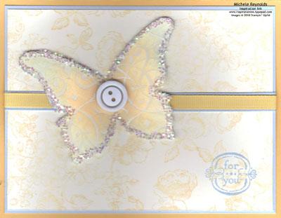 Elements of style resist butterfly watermark