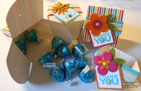 Party favor boxes watermark