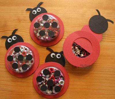 Circle eyelet lady bugs watermark