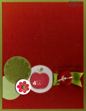 Apple blossoms back to school note watermark