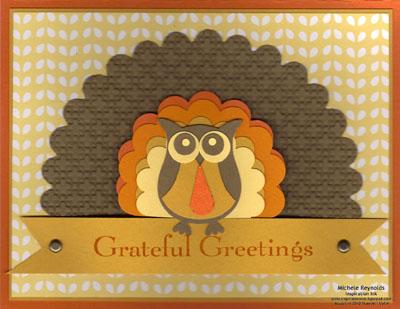 Grateful greetings owl turkey watermark