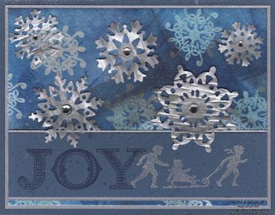 Welcome christmas waffle snowflakes watermark