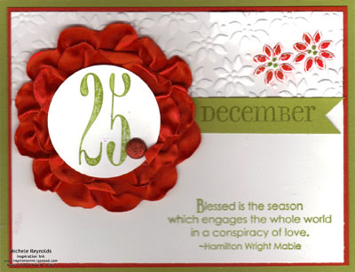 Christmas collage 25 flower watermark