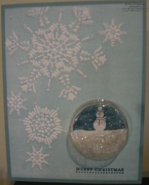 Tags til christmas shaker snowman watermark