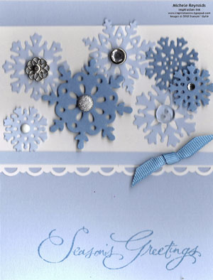 Many merry messages snowflake collage watermark