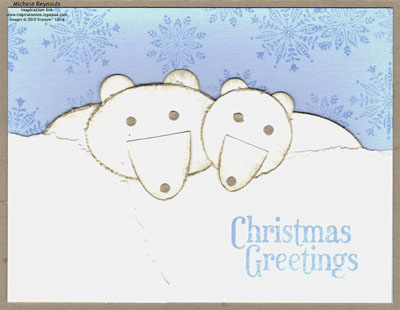 Northern hearts polar bears watermark