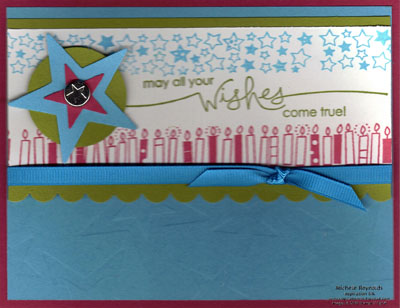 Heard from the heart star wishes watermark