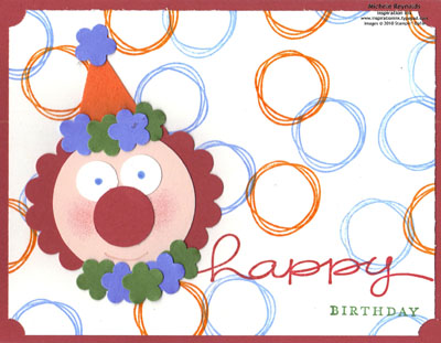 Happy everything punch clown watermark