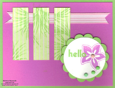 Tropical party jalousie windows watermark