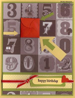 Teeny tiny wishes 6 petal card closed watermark