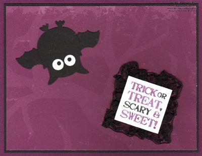Grateful greetings bat owl watermark