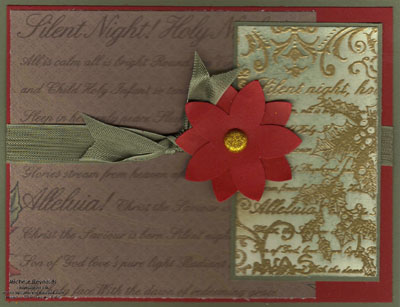 Christmas collage silent night panels watermark
