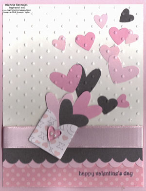 Teeny tiny wishes heart envelope watermark