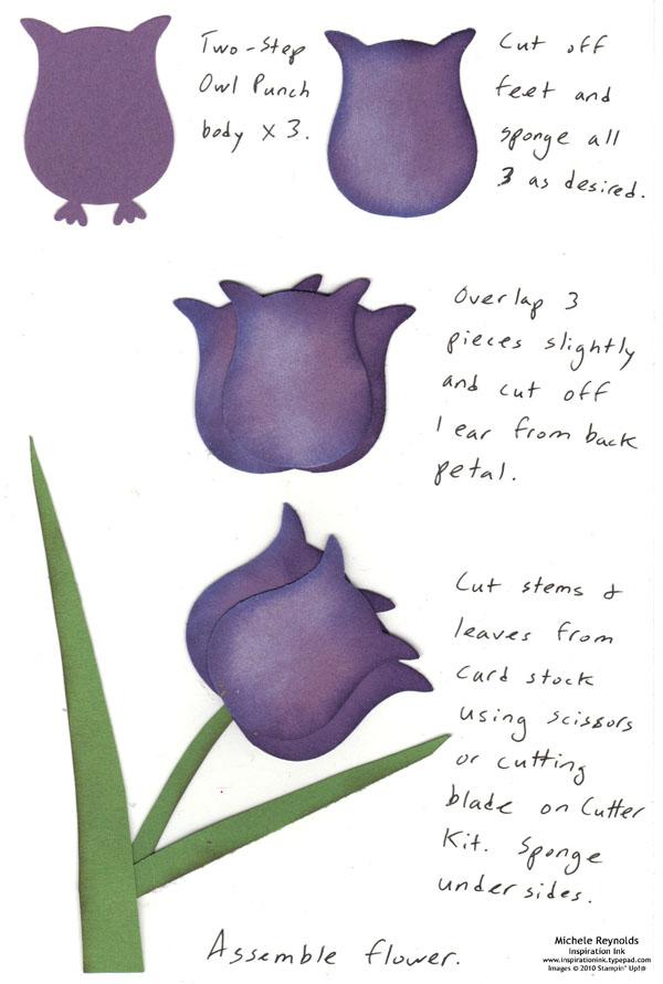Tulip watermark