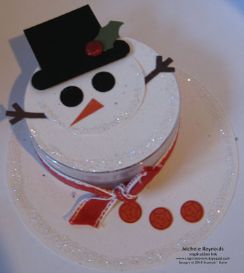Button button melting snowman container watermark