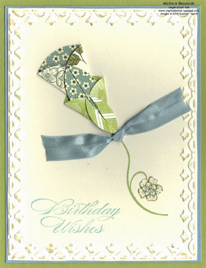 Bring on the cake vintage flower wishes watermark